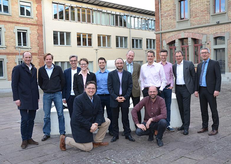 Professorin und Professoren der BWL - engeres Departementskollegium